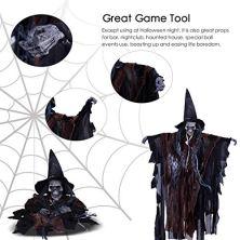 LegendTech-Halloween-Decoracion-2018-Esqueleto-Colgantes-Adornos-Horror-Juego-Accesorios-Calaveras-Juguetes-Hang-Ghost-Spooky-Props-63383cm