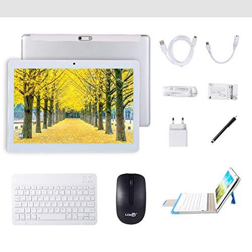 Tablet Android 7.0 da 10 pollici con processore quad-core WIFI navigazione Bluetooth 4 GB di RAM 64...