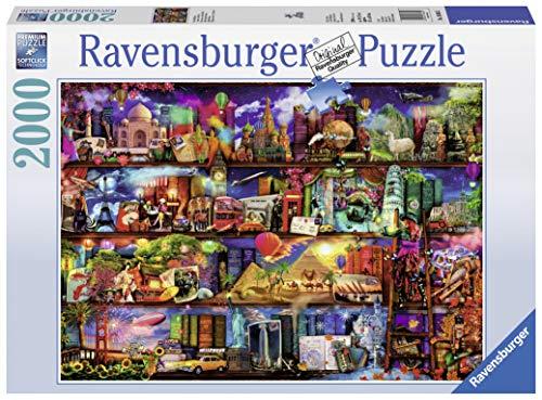 Ravensburger Italy Puzzle Il Mondo dei Libri, 2000 Pezzi 16685