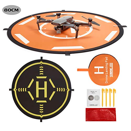 Drone Landing Pad,80CM Helipad Dronepad per DJI Mavic PRO / Mavic Air / SPARK / Mavic 2 / Phantom 3...