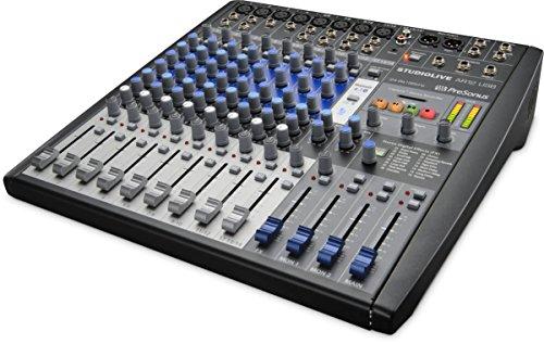 Presonus SLMAR12 Studio Live AR12 USB 14-Channel Hybrid Performance & Recording Mixer
