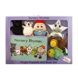 The Puppet Company - Traditional Story Set - Nursery Rhymes Finger Puppet and Book set
