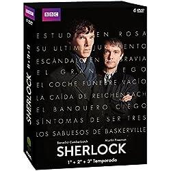 Sherlock - Edición 1, 2 Y 3 [DVD]