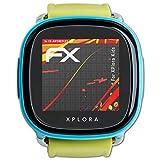 atFoliX Protector Película Compatible con XPlora Kids Lámina Protectora de Pantalla, Revestimiento antirreflejos HD FX Protección de Pantalla (3X)