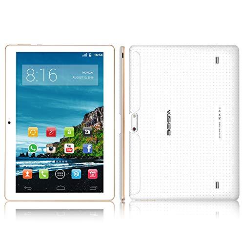 10 pollici (10.1) Tablet BEISTA-Bianca( Android 7.0, Processore Quad Core,Capacità 16 GB, RAM 2...
