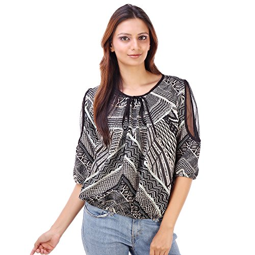 Goodwill Women's Casual Wear Enticing Polyster Top