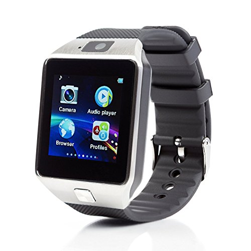 Oscar Oppo Neo 7 4G SW Bluetooth Smart Watch Phone With Camera and Sim Card Android/IOS Mobile with activity trackers with FREE GIFT