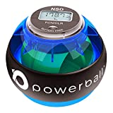 Nsd Powerball, 280Hz Pro, palla per esercizi di riabilitazione e potenziamento della presa, per avambraccio, presa della mano e esercitazioni delle dita
