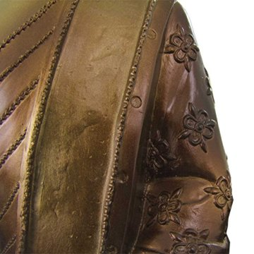 Figura buda iluminado de resina en color dorado y marrón   Tamaño: 29x13x40 cm   Portes gratis 10