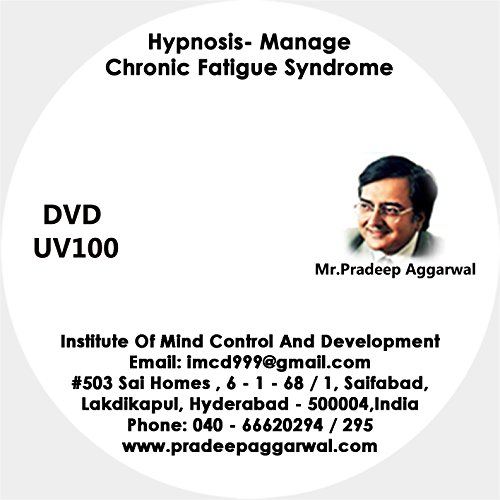 Hypnosis- Manage Chronic Fatigue Syndrome , DVD