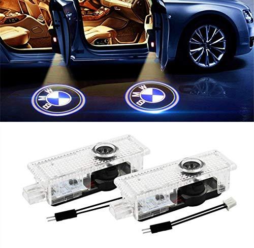 DR Speed D1 - Proiettore di illuminazione a LED del Logo BMW, 7,2 x 2,2 x 2,3 cm, Confezione da 2...