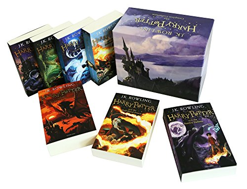 Harry Potter 7 Volume Children'S Paperback Boxed Set: The Complete Collection (Set of  7 Volumes) 8