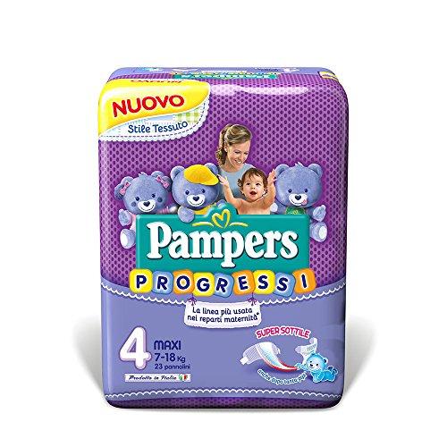 Pampers Progressi Pannolini Maxi - 740 g