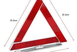 Auto Kit d'urgence avec Jumper Câbles, corde de remorquage, Triangle de sécurité, lampe de poche, marteau fenêtre Achat