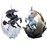 Romantic-Z Japan Monster Hunter World Game Modell 2018 Neue Figuren Action Dragon Modell Kirin Unicorn Sammlerstück Monster, Set