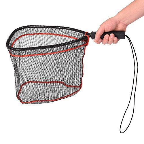 Lixada Guadino Pesca Retino da Pesca Reti di Atterraggio in Alluminio Cattura e Rilascio Net Fish Saver Nylon Mesh