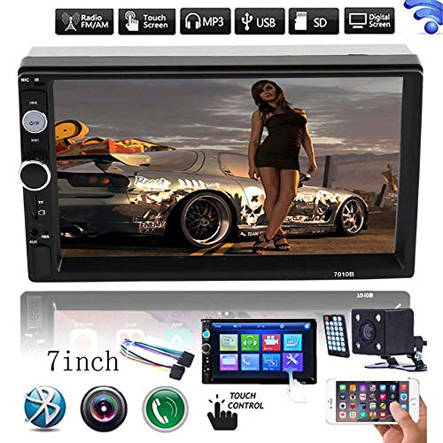 """Leoie HD 7"""" Double 2Din Bluetooth Car Stereo Radio FM/MP5 Player Touch Screen in-Dash"""