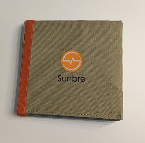 Sunbre - Caricatori Solari (12W Tascabile) Universale, il più Piccolo che Potete Trovare in...