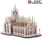 Cubic Fun- Puzzle 3D modellino Souvenir, MC210h