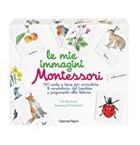 Le mie immagini Montessori. 150 carte a tema per arricchire il vocabolario del bambino e prepararlo alla lettura. Ediz. illustrata