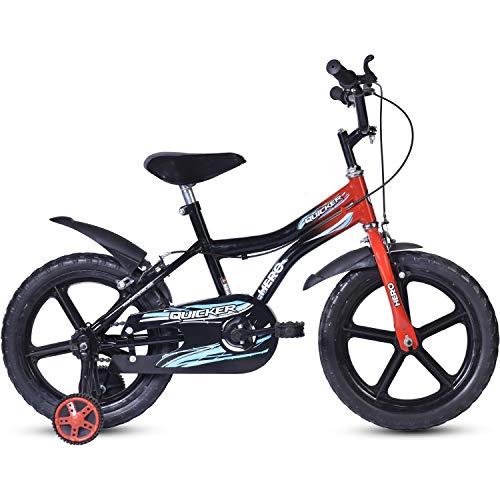 Hero Quicker 16T Steel Single Speed Junior Cycle, 10 Inch (Red)