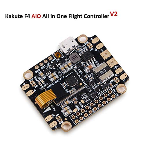 LITEBEE Kakute AIO F4 Flight Controller (V2) Integrado PDB, Betaflight OSD, BEC (6-Axis Gyro, 120A...