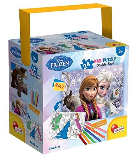 Lisciani Giochi Frozen Puzzle in a Tub Mini, 24 Pezzi, 35 x 50 cm 65233.0