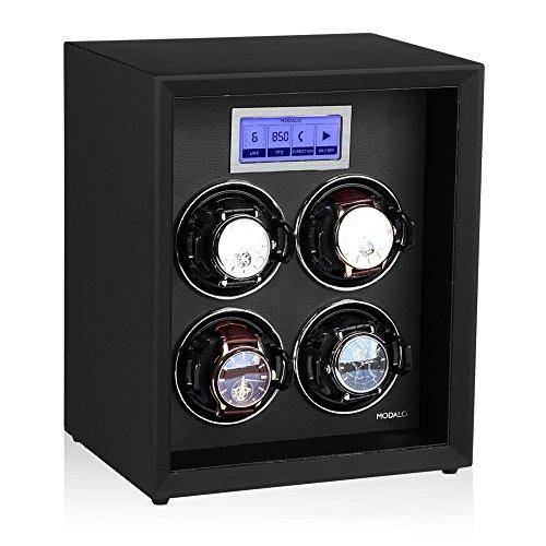 Modalo Safe Systems MV3 Uhrenbeweger für 4 Automatikuhren in schwarz 5504113