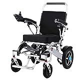 Wheel-hy Fauteuil Roulant électrique, Ultra léger et Totalement Pliable, pour Personnes âgées ou handicapées