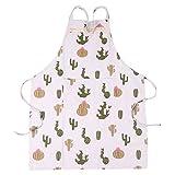 Delantales De Cocina Originales Diseño De Cactus & Ciervos