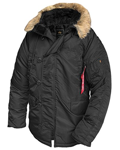 ALPHA INDUSTRIES Giacca N3B 100106 Nero X-Large