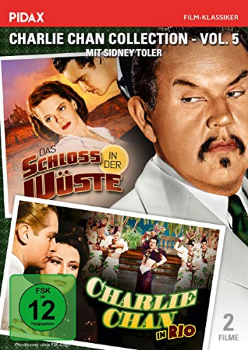 Charlie Chan Collection - Vol. 5 / (Charlie Chan in Rio + Das Schloss in der Wüste) (Pidax Film-Klassiker)