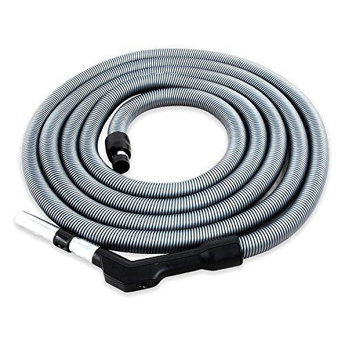 Komfort Schlauch für Zentralstaubsauger / Staubsaugeranlage, 9.1m Länge, passend für viele Marken und Anbieter