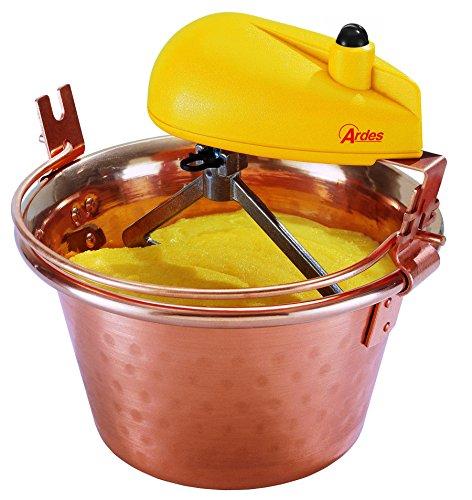 Ardes AR2440 Paiolo In Rame Per Polenta e Marmellata Porzioni Per 2/4 Persone Diametro 24 cm