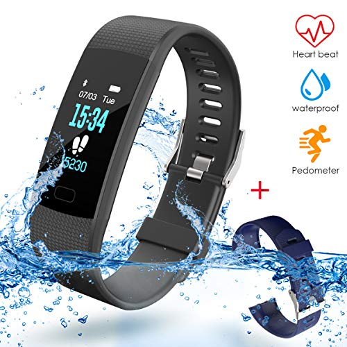 VIFLYKOO Orologio Fitness Activity Tracker,Orologio Fitness Tracker Uomo Donna IP67 Impermeabile GPS...