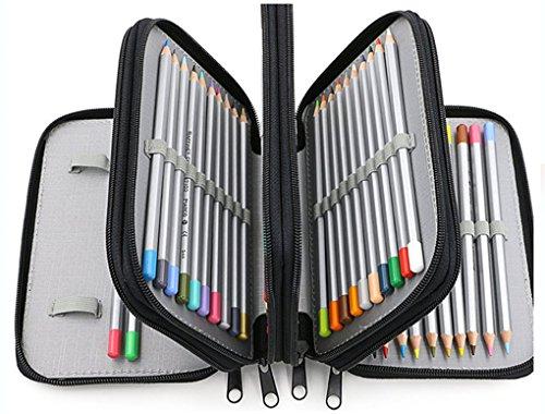 Astuccio 4 Scomparti Scuola Elementare Bambina Kawaii Pencil Case Organizer and Storage Pouch per...