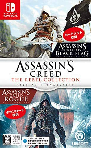 Ubisoft Assassins Creed The Rebel Collection for NINTENDO SWITCH REGION FREE JAPANESE VERSION