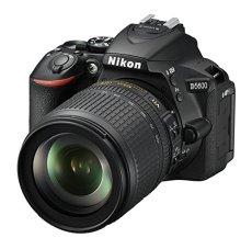 Nikon D5600 + AF-S DX 18-105mm G ED VR + 8GB SD Juego de cámara SLR 24.2MP CMOS 6000 x 4000Pixeles Negro - Cámara Digital (24,2 MP, 6000 x 4000 Pixeles, CMOS, Full HD, Pantalla táctil, Negro)