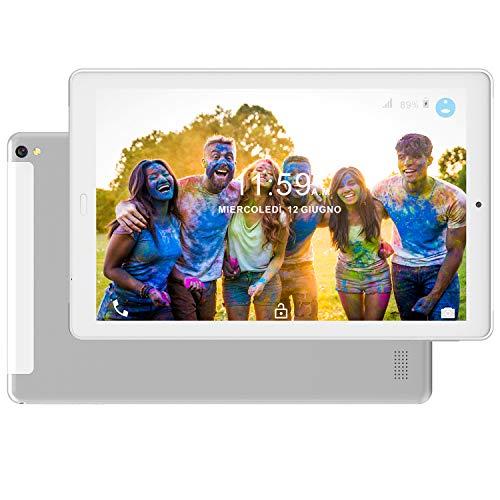Tablet PC 10.1 Pollici 4G LTE Dual SIM /WiFi tablet Android 8.0 con 3GB di RAM e 32GB ROM Batteria...