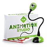 Studio d'animation HUE (Vert) : kit d'animation Stop Motion complet - caméra incluse - livre d'animation en français - compatible avec Windows et Mac OS X