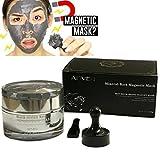 Aliver Mineral Reiche Magnetisch Gesichts Maske Poren Reinigung Entfernt Haut Verunreinigungen mit Eisen Basiert Haut Revitalisierendes magnetisch Alter-Defier Formel 50ml