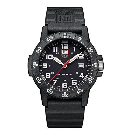 Luminox Herren Analog Quarz Uhr mit PU Armband XS.0321.L