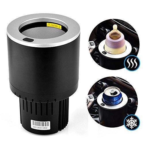 AUSHEN auto elettrica auto Cup Cooler/Warmer 2018New semiconduttore mini frigo porta bevande...