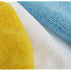 AmazonBasics Microfibre Cleaning Cloths, Pack of 6