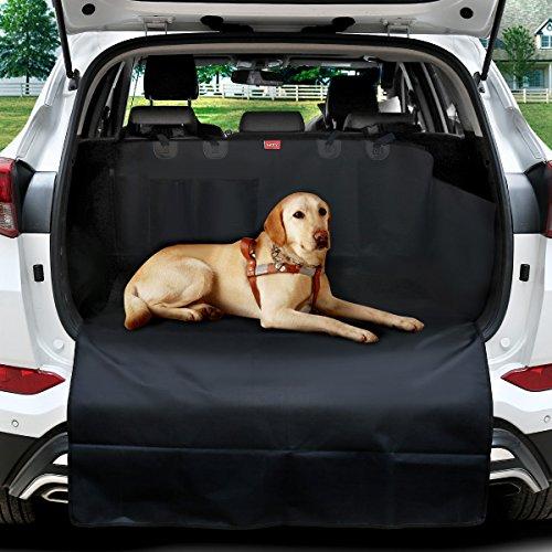 Kofferraumschutz Hunde Mit 2 Taschen MATCC Auto Hundedecke Mit Ladekantenschutz Wasserdicht Hunde Schutzdecke Kofferraum Schutzdecke Kofferraumdecke Mit Seitenschutz Kofferraumschutzdecke (185*105cm)