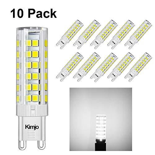 Lampadine LED G9 LED 7W Kimjo Equivalente 60W Lampada Alogena Bianco Fredda 6000K 500LM 80Ra 230V...