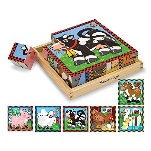 Melissa & Doug - 10775 - Puzzle con Cubi in Legno