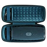Duro Viajar Caso Cubrir para JBL Charge 4 Altavoz Bluetooth inalámbrico Portátil por co2CREA (Azul)