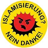 51UHe5iaEVL._SL160_ Aufkleber / Sticker - Islamisierung? Nein danke! (Sticker-Set, 10 Stück)