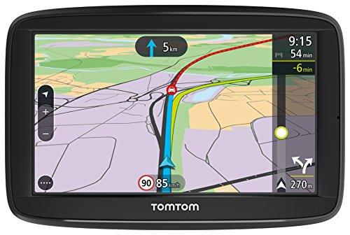 TomTom Via 52 Europe Traffic Navigationsgerät (13 cm (5 Zoll), Sprachsteuerung, Bluetooth Freisprechen, Fahrspurassistent, 3 Monate Radarkameras (auf Wunsch), Karten von 49 Ländern Europas)